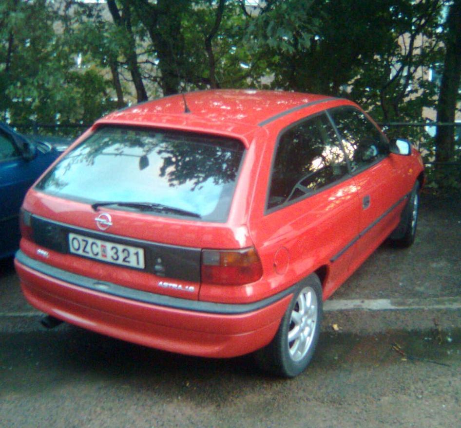 Opel astra sport 16v 95 for Garage opel bessancourt 95