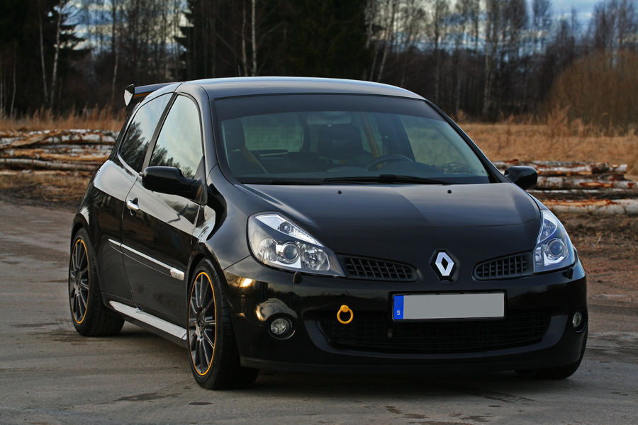 renault clio sport iii 197 06 vinterdvala vilka mods. Black Bedroom Furniture Sets. Home Design Ideas