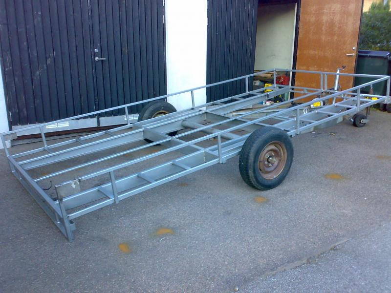Nykomna rejsa.nu :: Så här bygger du din egen biltransport! KY-96