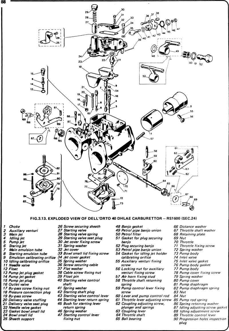 dellorto 45 drla carburetor diagram vw bug carburetor