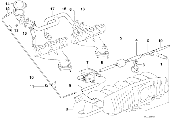 belt diagram 1998 bmw z3