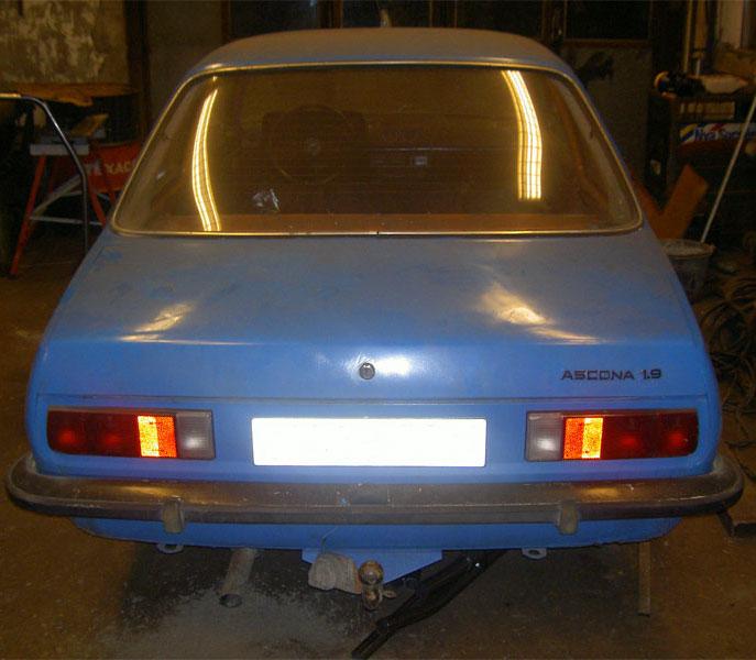 Opel ascona b 77 mitt f rsta projekt n gonsin for Garage opel 77 pontault combault