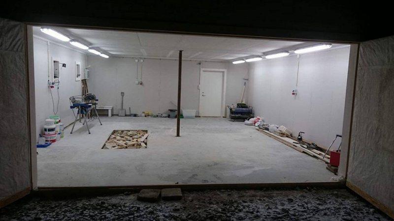 Värma garage med luftvärmepump