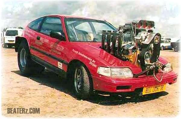 Honda civic med v8 for V8 honda civic